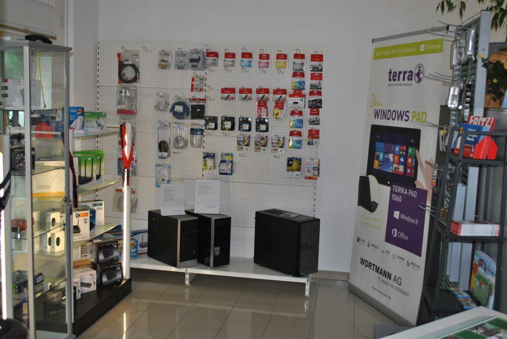 Bild der Ausstellungsfläche